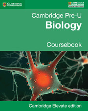 Pre-U Biology Coursebook Cambridge Elevate edition