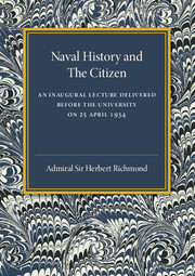 Naval History and the Citizen