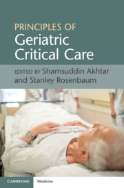 Principles of Geriatric Critical Care
