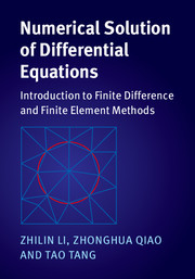 Numerical Solution of Differential Equations
