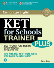 KET for Schools Trainer Plus Pack