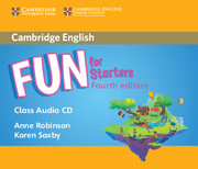 Fun for Starters Class Audio CD