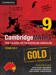 Cambridge Mathematics GOLD NSW Syllabus for the Australian Curriculum Year 9
