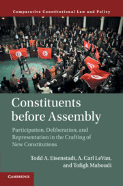 Constituents Before Assembly by Todd A  Eisenstadt