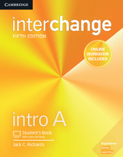 Interchange Intro A Student's Book with Online Self-Study and Online Workbook