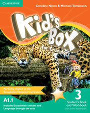 Kid's Box for Ecuador Level 3
