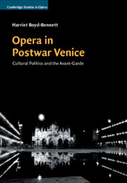 Cambridge Studies in Opera