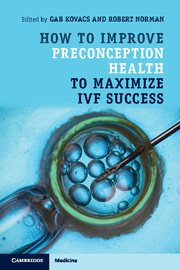 How to Improve Preconception Health to Maximize IVF Success