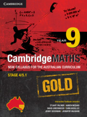 Cambridge Mathematics GOLD NSW Syllabus for the Australian Curriculum Year 9 and Hotmaths Bundle
