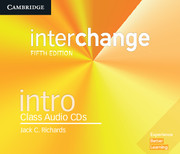 Interchange Intro Class Audio CDs