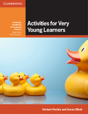 Activities for Very Young Learners Book with Online Resources