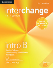 Interchange Intro B Full Contact with Online Self-Study and Online Workbook