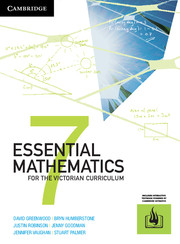 Essential Mathematics for the Victorian Curriculum Year 7