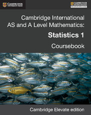 Cambridge International AS and A Level Mathematics: Statistics 1 Revised Edition Cambridge Elevate edition (2 Years)