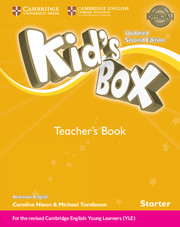 Kid's Box Starter Teacher's Book American English