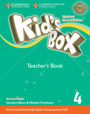 Kid's Box Level 4 Teacher's Book American English