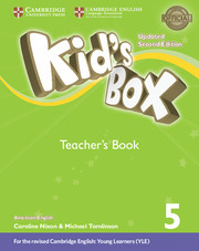 Kid's Box Level 5 Teacher's Book American English