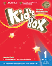 Kid's Box Level 1 Workbook with Online Resources American English