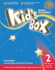 Kid's Box Level 2 Workbook with Online Resources American English