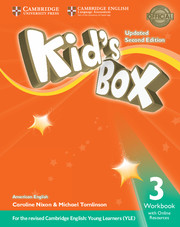 Kid's Box Level 3 Workbook with Online Resources American English