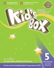 Kid's Box Level 5 Workbook with Online Resources American English