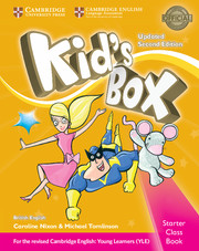 Kid's Box Starter Class Book with CD-ROM British English
