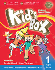 Kid's Box Updated 2nd edition L1 cover