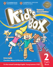 Kid's Box Updated 2nd edition L12cover