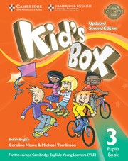Kid's Box Updated 2nd edition L3 cover