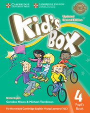Kid's Box Updated 2nd edition L4 cover