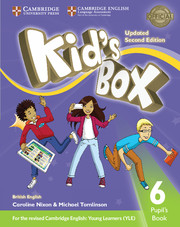 Kid's Box Updated 2nd edition L6 cover