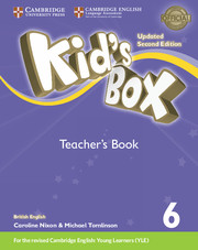 Kid's Box Level 6 Teacher's Book British English