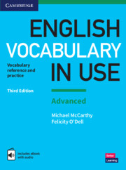 English Vocabulary in Use: Advanced 3rd Edition