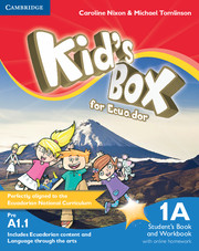 Kid's Box for Ecuador Level 1A