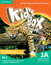 Kid's Box for Ecuador Level 3A