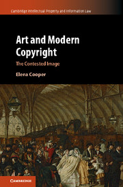 Art and Modern Copyright