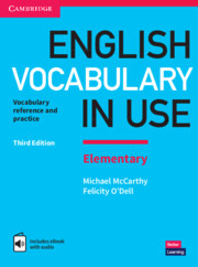 English Vocabulary in Use Elementary Book with Answers and Enhanced eBook