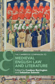 The Cambridge Companion to Medieval English Law and Literature