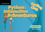 Coding Club Python: Interactive Adventures Level 2 (1 Year) School Site Licence