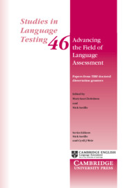 Advancing the Field of Language Assessment