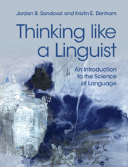 Thinking like a Linguist