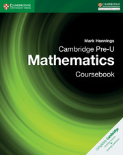 Cambridge Pre-U Mathematics