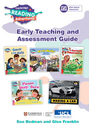 2017 Cambridge Reading Adventures Pink A to Blue Bands Early Teaching and Assessment Guide with Digital Classroom (1 Year)