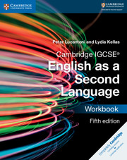Cambridge IGCSE® English as a Second Language Workbook