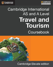 Cambridge International AS and A Level Travel and Tourism Cambridge Elevate Edition (2 Years)