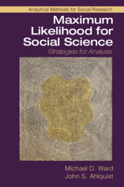 Maximum Likelihood for Social Science