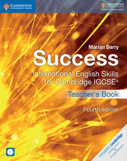 Success International English Skills for Cambridge IGCSE® Teacher's Book with Audio CDs (2)