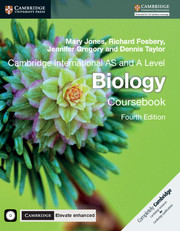 Cambridge International AS and A Level Biology Coursebook with CD-ROM and Cambridge Elevate Enhanced Edition (2 Years)