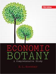 Economic Botany by S  L  Kochhar