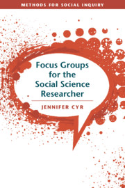Focus Groups for the Social Science Researcher